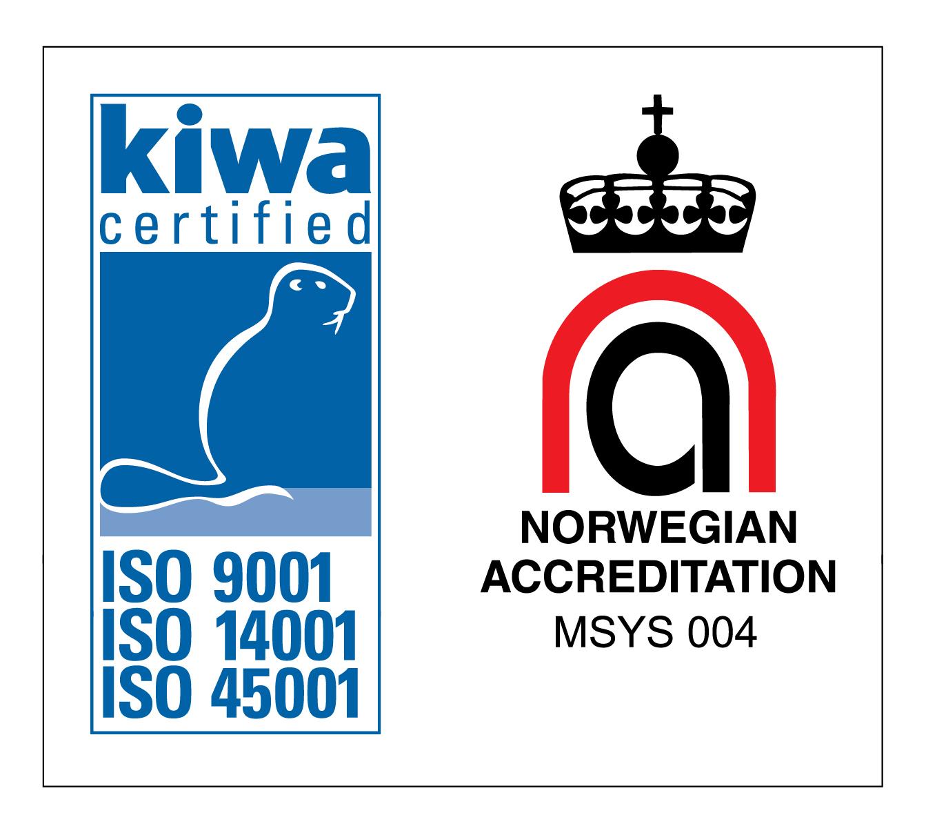 ISO Sertifisering kiwa